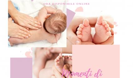 Aperte Iscrizioni: Corso di Massaggio Infantile AIMI ONLINE
