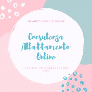 Consulenze Allattamento Online per esserti vicina sempre!
