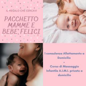 Corso di Massaggio Infantile AIMI + Consulenza Allattamento Private e a Domicilio!